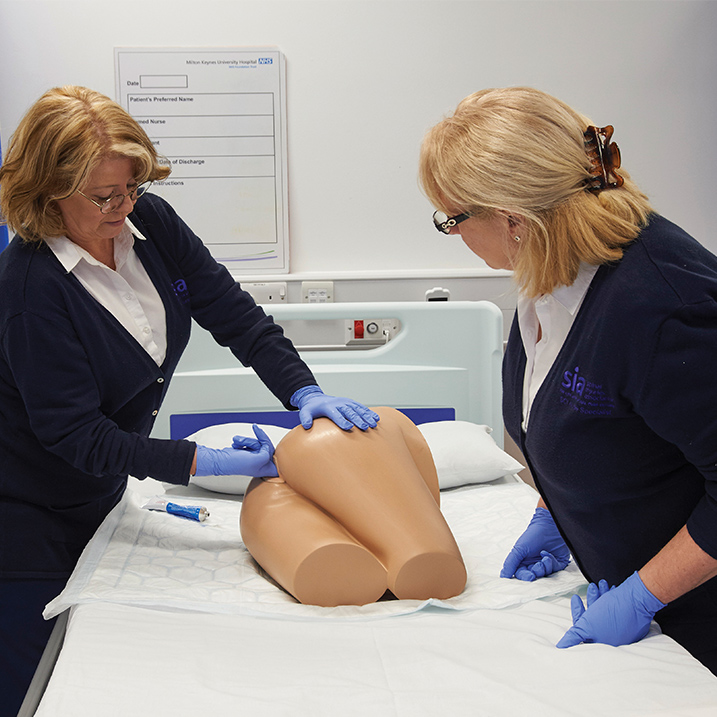 NEW // Rectal examination, stool assessment and enema training model