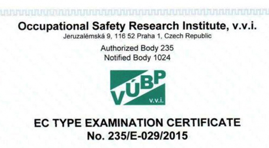 Updated CE Certificates<br>
