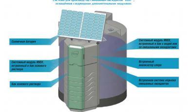 Компания ОНИКО предлагает оборудование для обеззараживания воды по технологии MIOX (США)