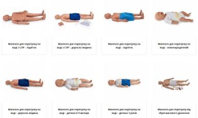 Велике оновлення асортименту манекенів для порятунку постраждалих