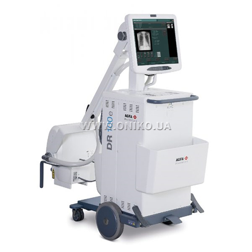DR 100e Compact, mobile X-ray unit