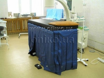 Set of X-ray protection for operating table