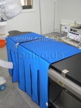 Защита низа стола для ангиографии ОНИКО