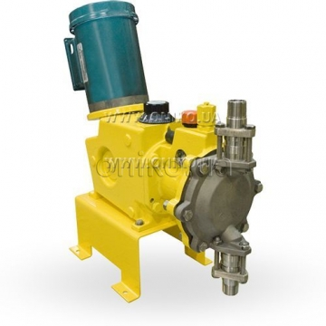 Dosing pumps MAXROY series A, B, D</br>Pressure: up to 30 bar. Productivity: up to 1100 l / h
