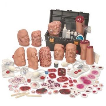 Набір моделей ран та уражень від зброї масового знищення