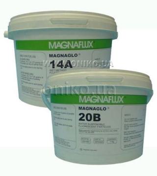Люмінесцентні магнітні концентрати MAGNAGLO 14A, 20B, MG410, WB12