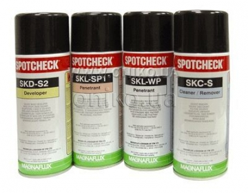 SPOTCHECK Penetrants, Cleaners, Developers