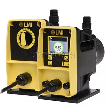 Дозуючі насоси LMI серії AD і PD</br>Тиск: до 30 бар. Продуктивність: до 7,6 л/г