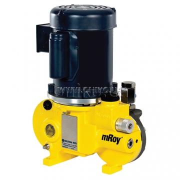 Дозуючі насоси серії mROY</br>Тиск: до 123 бар. Продуктивність: до 310 л/г