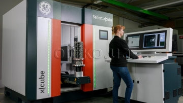 Real-Time X-Ray and CT Inspection System Seifert x|cube Compact