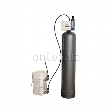 Water disinfection with liquid chlorine